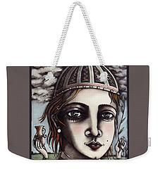 Medieval Herbalist Weekender Tote Bag