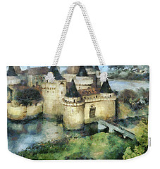 Medieval Knight's Castle Weekender Tote Bag by Sergey Lukashin