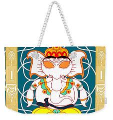 Dhyana Ganapati Weekender Tote Bag
