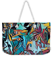 Meditating On And Contemplating Abstract Art Creates A Space Of Pure Perception Where Hope And Fear  Weekender Tote Bag