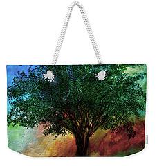 Meditation Inspiration Tree Art Weekender Tote Bag