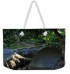 Meditation Path Weekender Tote Bag