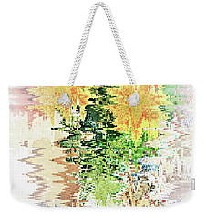 Meditation Pond Weekender Tote Bag by Ann Johndro-Collins