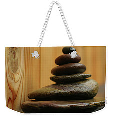 Meditation Stones Weekender Tote Bag