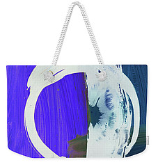 Meditation, White Enso, The Breakthrough Weekender Tote Bag