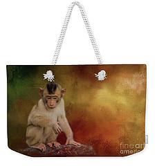 Meditative Weekender Tote Bag by Eva Lechner