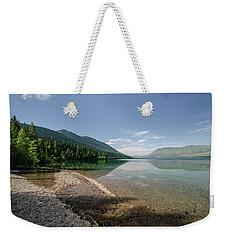 Weekender Tote Bag featuring the photograph Meditative Mood by Margaret Pitcher