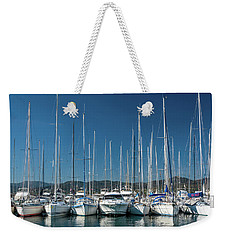 Mediterranean Marina Weekender Tote Bag