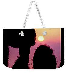Mediterranean Sunrise Poster Weekender Tote Bag