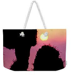 Mediterranean Sunrise Weekender Tote Bag