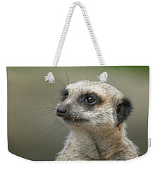 Meerkat Model Weekender Tote Bag