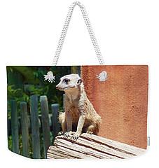 Meerkat Sentry Weekender Tote Bag