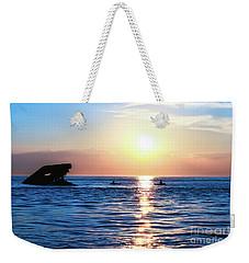 Meet Me At Sunset Weekender Tote Bag