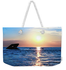Meet Me At Sunset Weekender Tote Bag by Colleen Kammerer