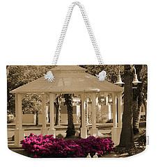 Meet Me At The Gazebo Weekender Tote Bag