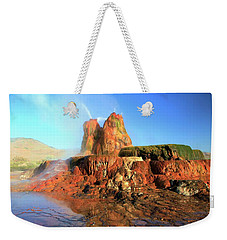 Meet The Fly Geyser Weekender Tote Bag
