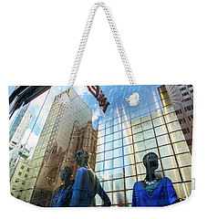 Weekender Tote Bag featuring the photograph Meet The New Boss by Alex Lapidus