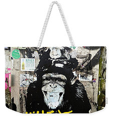 Meet Wiley In New York  Weekender Tote Bag by Funkpix Photo Hunter