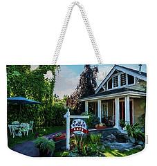 Weekender Tote Bag featuring the photograph Meet You At Sally's - Chesapeake Art by Jordan Blackstone