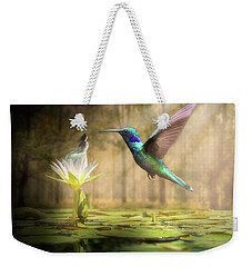 Meeting Mother Nature Weekender Tote Bag