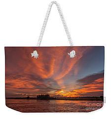 Mekong Sunset 3 Weekender Tote Bag