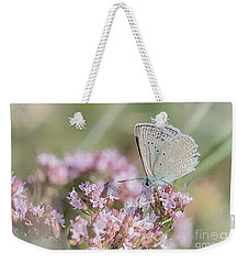 Meleagers Blue Butterfly Weekender Tote Bag