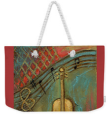 Mello Cello Weekender Tote Bag