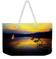 Mellow Moments In New England Weekender Tote Bag