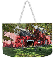 Weekender Tote Bag featuring the photograph Mellow September by Betsy Zimmerli