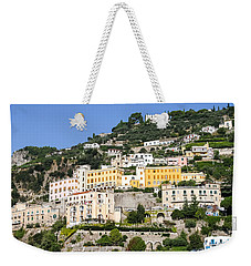Mellow Yellow Buildings Weekender Tote Bag