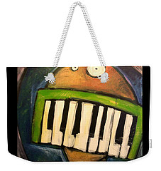 Melodica Mouth Weekender Tote Bag by Tim Nyberg