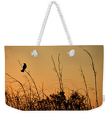 Melody At Dusk Weekender Tote Bag