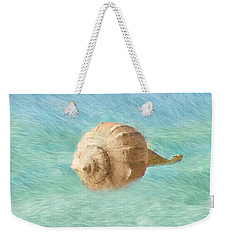 Weekender Tote Bag featuring the photograph Melody Of The Sea by Betty LaRue