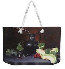 Melon And Vase Weekender Tote Bag