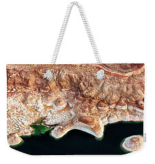 Melted Chocolate And Mint Weekender Tote Bag