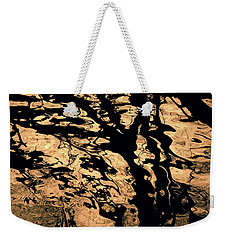 Melted Chocolate Weekender Tote Bag
