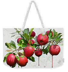Melting Apples Weekender Tote Bag by Ivana Westin