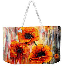 Melting Flowers Weekender Tote Bag