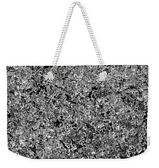 Weekender Tote Bag featuring the photograph Melting Snow by Chevy Fleet