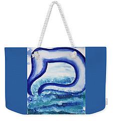 Mem In The Sea Weekender Tote Bag