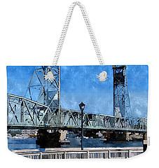 Memorial Bridge Mbwc Weekender Tote Bag