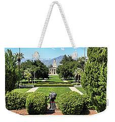 Memorial Chapel University Of Redlands Weekender Tote Bag by Mariola Bitner