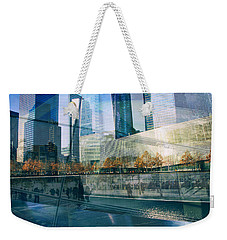 Weekender Tote Bag featuring the photograph Memorial Collage by Jessica Jenney