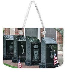 Memorial Day One Weekender Tote Bag by Caroline Stella