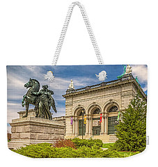 Weekender Tote Bag featuring the photograph Memorial Hall - Fairmount Park by Nick Zelinsky