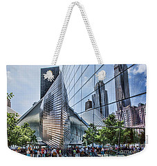 Memorial Reflections Weekender Tote Bag by Shirley Mangini