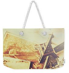 Memories And Mementoes Of Travelling France Weekender Tote Bag