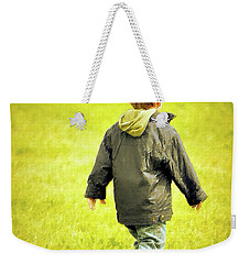 Weekender Tote Bag featuring the photograph Memories... by Barbara Dudley