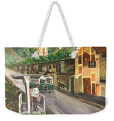 Memories Of Commonwealth - Close Up View Of Apartments Weekender Tote Bag