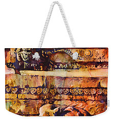 Memories Of Happier Times- Nepal Weekender Tote Bag